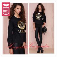 Drop ship!New 2014 brand autumn Hot stamping Printing(versexy)sweatshirts womens loose Hoodies clothing,streetwear style