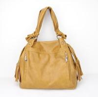 H069(orange) messenger purse/Best Sale tote handbag/2015 Fashion Korean Simple Style PU Leather Handbag,Free shipping!