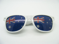 OEM Australia flag sticker aviator promotional sunglasses,wayfarer sunglasses,custom sunglasses