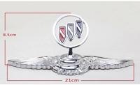 eagle emblems car beacon for buick Lacrosse Excelle Regal etc luxury 3D stereo car badge eagle wing sticker colorful emblem
