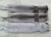 Fox skin muffler scarf fox scarf fur fox fur scarf muffler scarf cape blue male Women