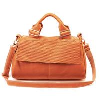 Fashion vintage women's handbag genuine leather handbag bags buckle cowhide messenger bag shoulder bag