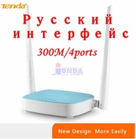 Russia Router Wireless N router WIFI Repeater home networking broadband Access Point 300Mbps 4 Ports RJ45 802.11 g/b/n N305 Free