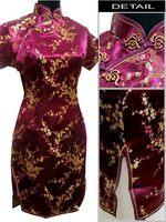 cheongsam Qipao women sexy dress Chinese New Year party evening dresses chi-pao clothing