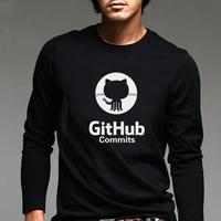 Autumn for git hub linux merb ruby male 100% cotton long-sleeve T-shirt