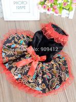 2014 Winter New Arrived Dog Wedding Dress National Styles Pet Dress Dog Clothing