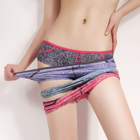 3 casual denim print breathable modal cotton young girl panty female