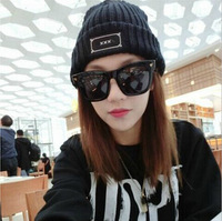 Fashion wome winter Xxx watch cap applique letter casual knitted hat male or female knit skullies beanies cheap hot selling