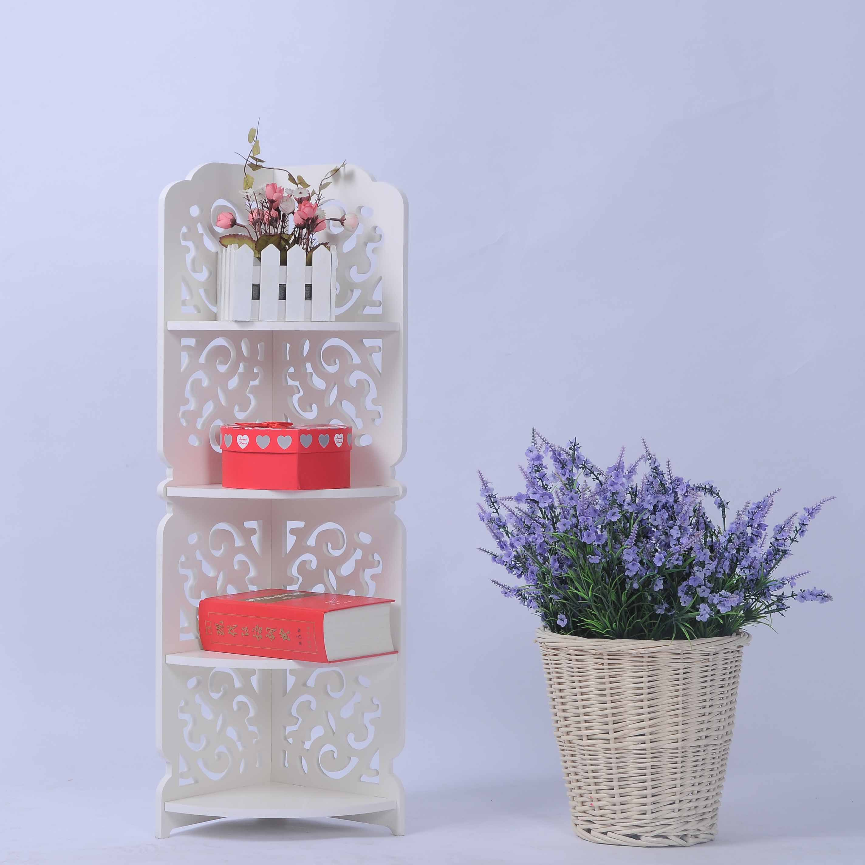 madeira branca do banheiro prateleira de canto prateleira do banheiro  #B31825 2848x2848 Acessorios Banheiro China