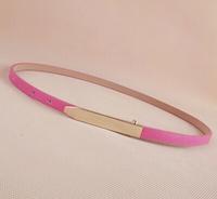 classic brief thin all-match belt strap female belly chain women's belt small belt