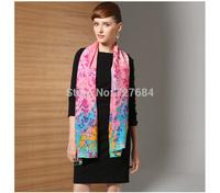 free shipping long design women's  tie-dyeing scarf wool big shawl