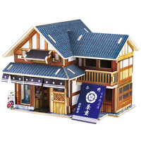 The Customs House 3D  Building Model Assembled Wooden House Three Dimensions Puzzle Japan's Cabin Puzzle