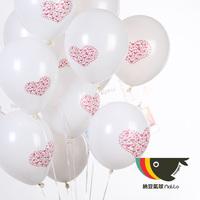 "12"" Round Latex Balloons Decoration Wedding Party Helium Balloons"
