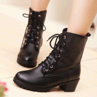 2014 fashion martin boots thick heel boots spring and autumn boots women boots,SHO035