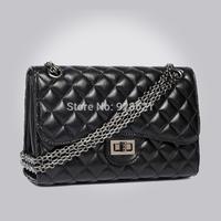 Women's handbag black plaid 2014 chain small women's one shoulder cross-body fashion small bags