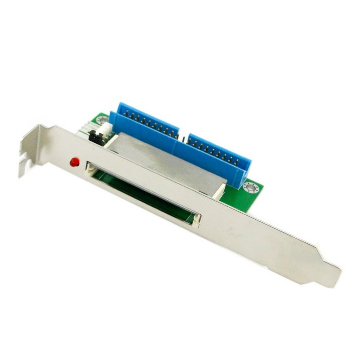 10pcs 40Pin ATA IDE to Compact Flash CF Adapter Converter with PCI Bracket Back Panel wholesale(China (Mainland))