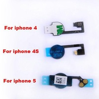 Home Button Cable Home Button Repair Part Flex Cable Replacement Ribbon For iPhone 4 4G