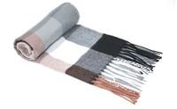 2014 new men's plaid scarf acrylic scarf striped men's plaid scarf plaid scarf gentleman