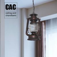 American rustic entrance lights aisle lights lantern balcony lamp dining room pendant lamps