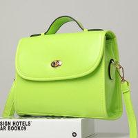 Woman bags 2014 summer candy color fashion messenger bag female shoulder bag crossbody women's handbag small cross-body bag