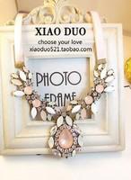 2014 New Arrival Luxury  Fashion Mixed Style Irregular Bubble Bib Choker Necklace & Pendant Women Jewelry MD1154