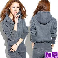 HOT sale !! new 2014 sport sweater spring&autumn season high quailty women's sweatshirt hoody 2pcs /set