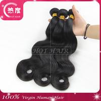 "Peruvian virgin hair body wave 3 pcs 8""-30"" Peruvian hair bundles remy human hair weaves"