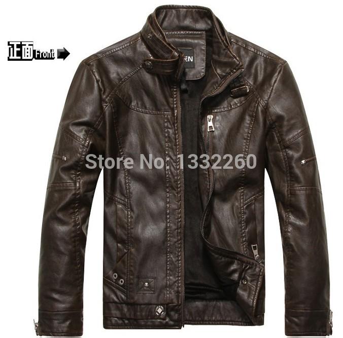 Мужские изделия из кожи и замши New 2015 jaqueta couro 6689 мужской ремень cinto couro marca