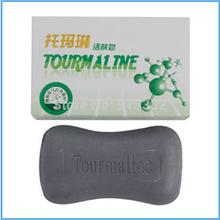Free Shipping Oil Controlling Skin Care Soap 100g piece Tourmaline Energy Soap Kill bacteria