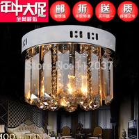 DIY Modern Crystal Ceiling Light Bedroom Luminous Lamp Luminarias Home Decoration Hallway Lamps Indoor Lighting+E14/40W LED Bulb