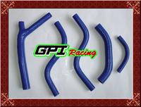 GPI silicone radiator hose FOR  Honda CR125 CR 125 CR125R CR 125R 87 88 1987 1988 BLUE