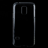 Clear Transparent Hard Plastic Phone Case Cover for S5 Mini