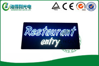 wholesale restaurant  sign/ 12*24 inch DC12V beautiful looking led acryic sign /electronic advertising panel/led open sign
