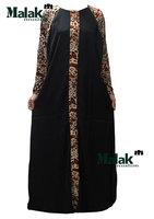 Free shipping kaftan jilbabs of Dubai design and Islamic clothing for woman high quality muslim abaya for the lady ram90