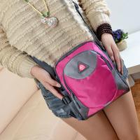 Outdoor casual sports women travel messenger bag waterproof nylon cloth portable one shoulder cross-body bag