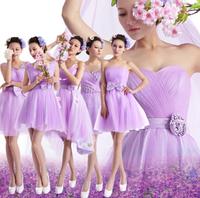 elegant short design purple for prom Weddings Events Special Occasion Dresses Graduation Dress