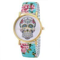 New arrival  GENEVA dress watch cute FLOWER Popular hot sale watch  girl fashion watch spring steel strip watch  quartz watch