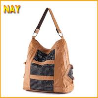 B57 Top Grade Luxurious Fashion High Quality Real Genuine Leather Brand Designer Handbags Women Tote Sheepskin Shoulder Bag