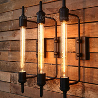 American Retro Industrial Light Country Innovative Restaurants Bbalcony Corridor Stage Art Wall Lamp XDB-410 Free Shipping