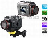 Hot DV100 Sports DV HD 1080P Sports Action Video Waterproof Camera Cam for Car Bike Helmet Surfing Outdoor Sport Mini DVR