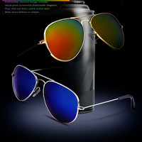 Wholesales avaitor promotional sunglasses,wayfarer sunglasses,custom sunglasses,seven color reflective glasses sunglassesDLS9023