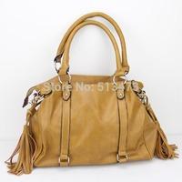 "H028(orange)wholesale designer women's bag,messenger bag,Size:14 x 7.5 x 11"",PU,12 different colors,two function,Free shipping!"