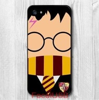 5 pcs Harry Potter Funny Character Protective Cover Case For iPhone 5/5s 4/4S 5C T566