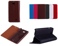 100% Genuine Leather 2014 New Arrival Hard Plastic Back Cover Phone Case for LG L90 case Simple & Fashion - Free Shipping