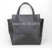 "H017 black,Fashion ladies'handbag,designer bag,PU,12 x 5.6"",12 different colors,Interior Structure 3 small pocket,Free shipping!"