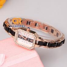 NEW Luxury Brand watch Ladies Crystal ceramic watches women rhinestone dress wrist watch High quality quartz
