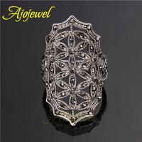Size 7-9 New fashion jewellery anel de falange Bijoux Anel De Formatura Big rings for women