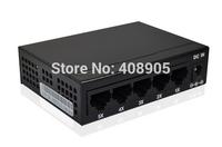 Ethernet 5 Ports Fast Ethernet Lan Network switch 10/100/ 1000mbps high performance Smart Gigabit Switch 5 Port EU/US plug