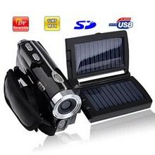 3.0 inch 5.0MP Solar Powered 8X Zoom DV Digital Video Camcorder, Max pixels: 12.0 Mega pixels (Interpolation)(China (Mainland))