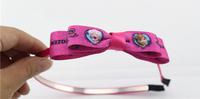 Frozen clips hair accessories girls' hairband children's jewelry  headdress Elsa Anna Princess Hair Hoops 41561669788 201410HX